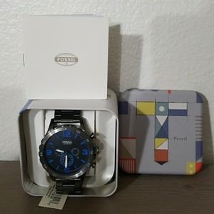 NWT Mens Fossil Watch